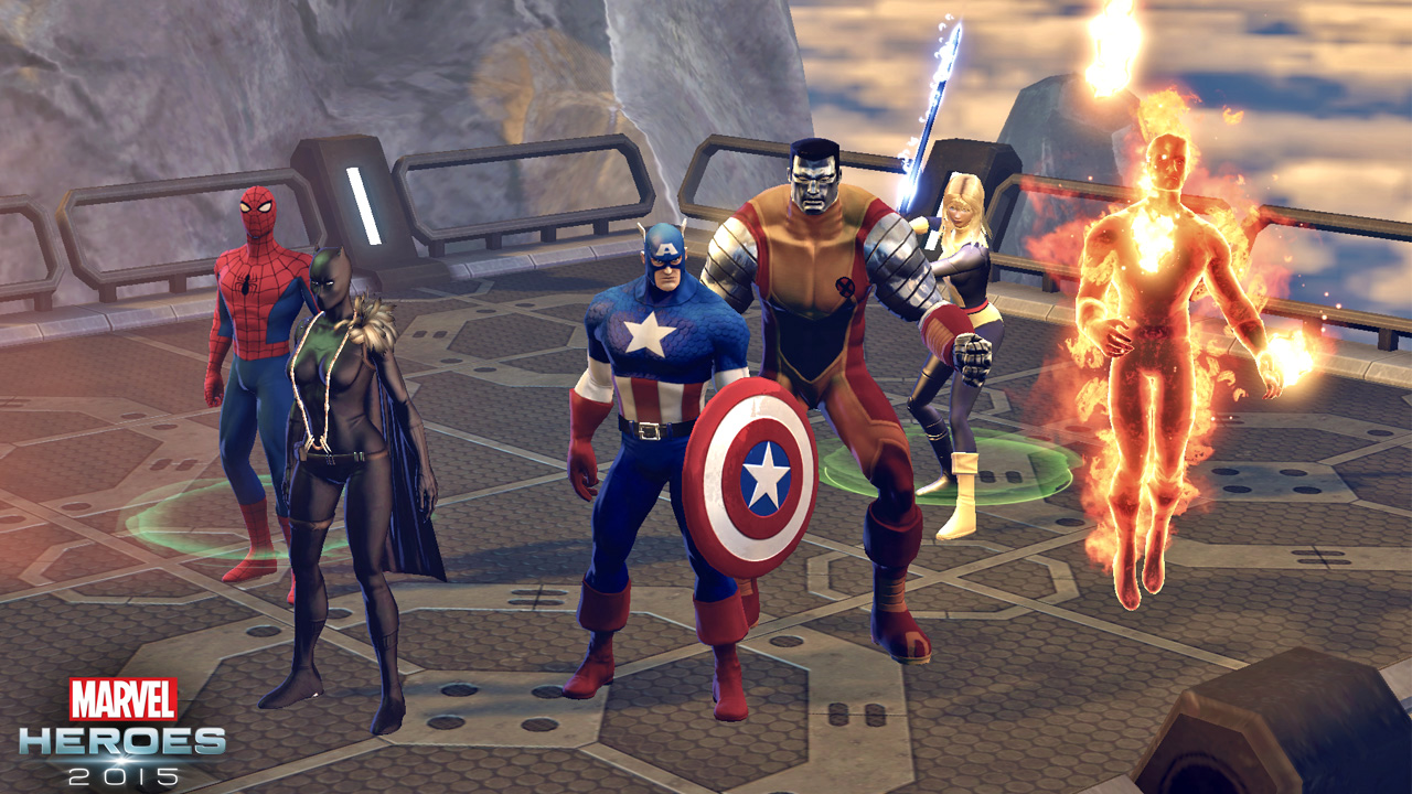 Marvel Heroes 2015 screenshot