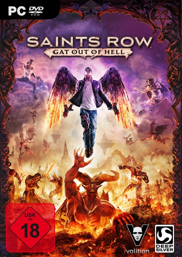 Saints Row: Gat out of Hell torrent poster