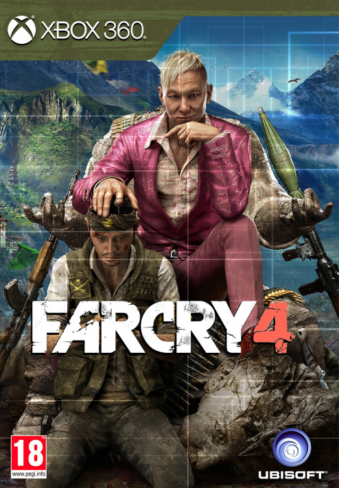 Far Cry 4 Xbox 360 Poster