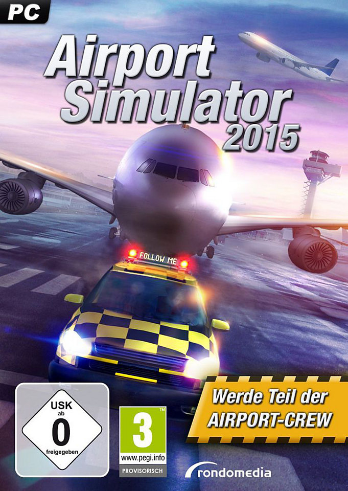 Airport Simulator 2015 PC Poster