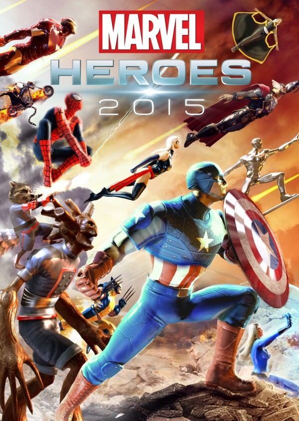 Marvel Heroes 2015 torrent poster