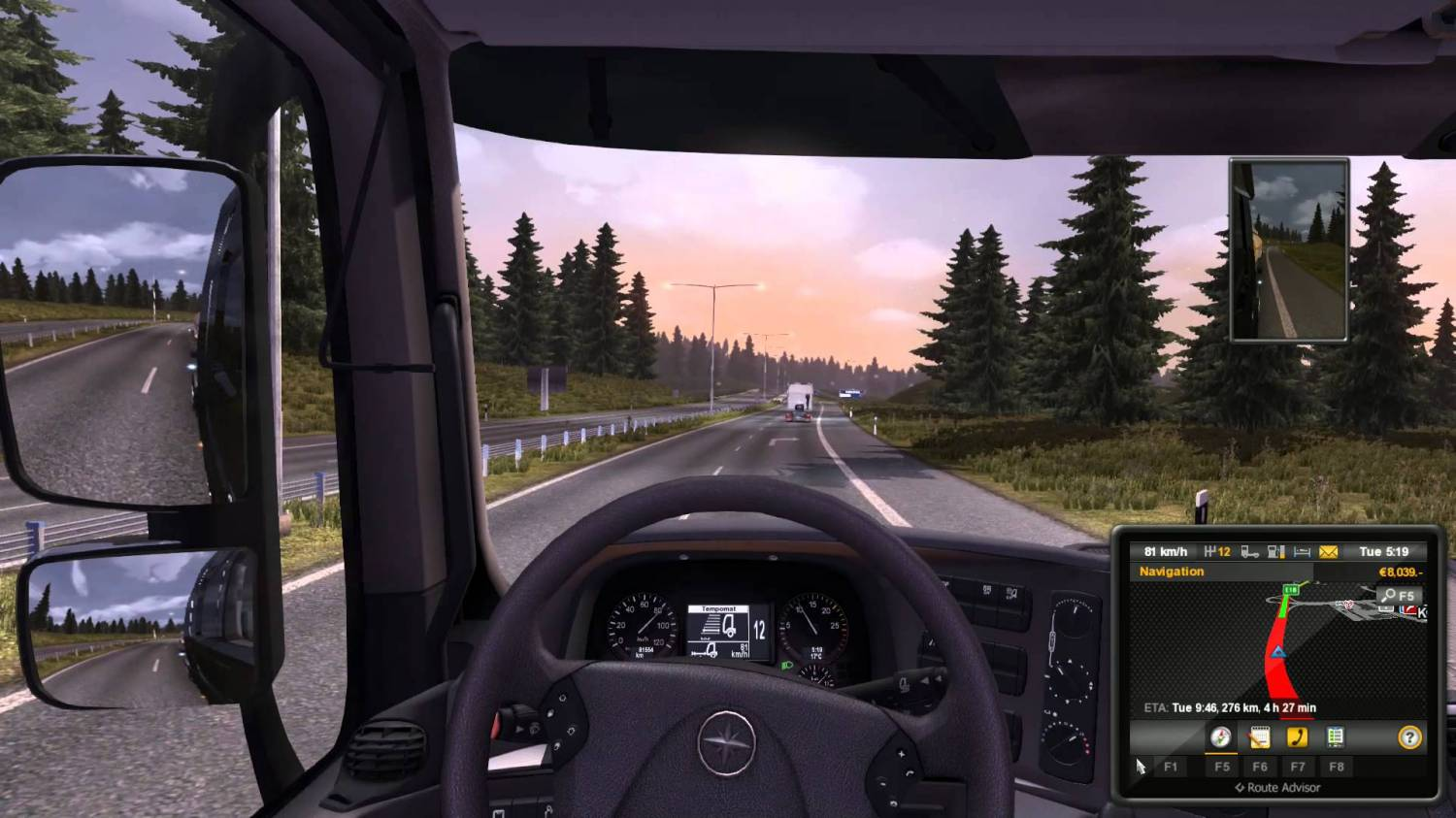 Euro Truck Simulator 2 Scandinavia Screenshot
