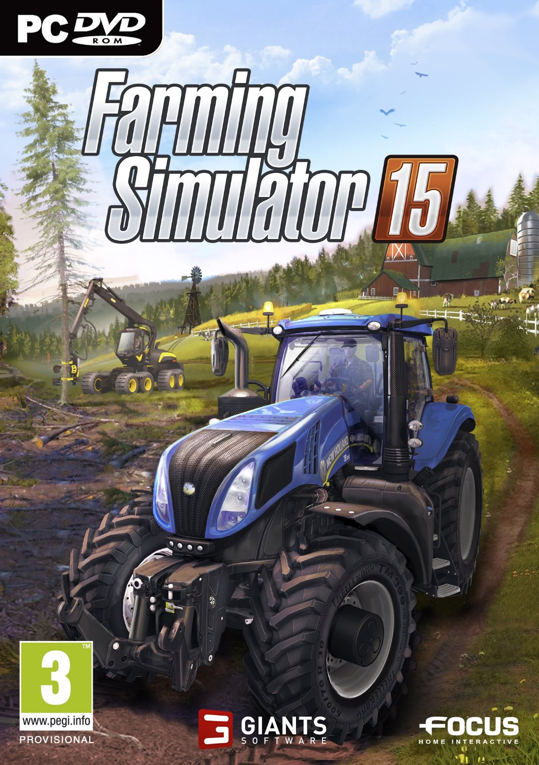 Farming Simulator 2015 PC Poster