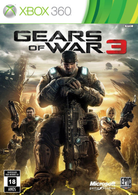 Gears of War 3 Xbox 360 Poster