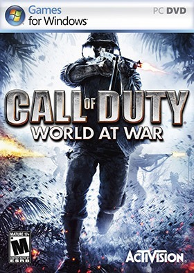 Call of Duty World at War poster