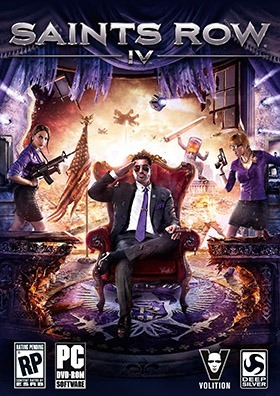 Saints Row 4 poster