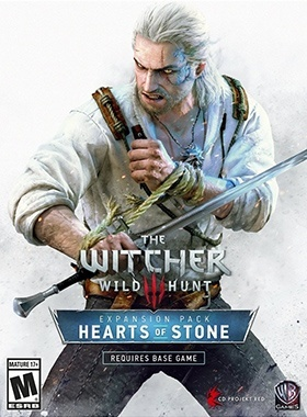 The Witcher 3: Hearts of Stone poster