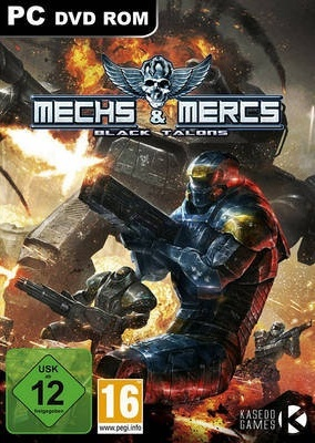 Mechs and Mercs: Black Talons PC Poster