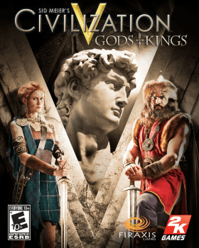 Civilization V Gods and Kings PC Poster