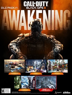 Call of Duty: Black Ops III Awakening poster