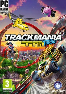 Trackmania Turbo PC Poster