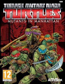 TMNT: Mutants in Manhattan poster