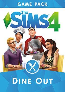 The Sims 4: Dine Out PC Poster