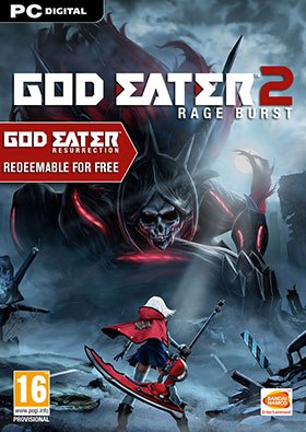 God Eater 2: Rage Burst torrent poster