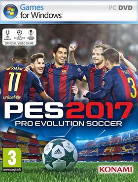 Pro Evolution Soccer 2017 torrent poster