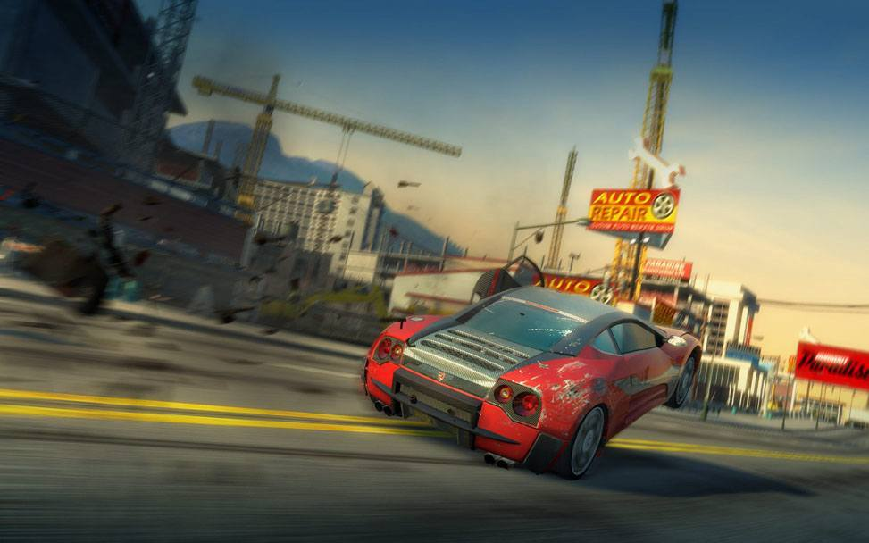 Burnout Paradise download torrent